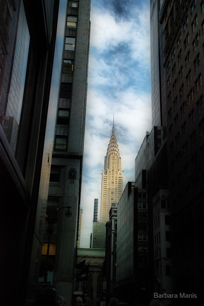 The Chrysler Building, NYC by Barbara Manis