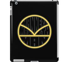 Manners Maketh Man - Alternate Version iPad Case/Skin