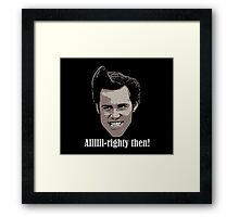 Ace Ventura Pet Detective Shirt Framed Print