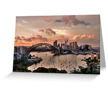 Sailors Warning -Sydney - Moods Of A City - The HDR Experience Greeting Card