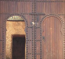 double doors by Cédric Delalande