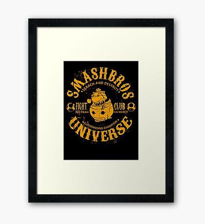 Mushroom champion 7 Framed Print