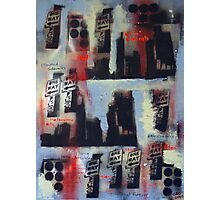 City Soul Forever - Melbourne Stencil art on canvas Photographic Print