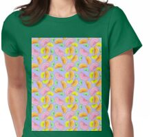 citrus rainbow Womens Fitted T-Shirt