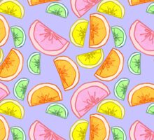 citrus rainbow Sticker