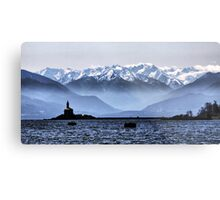 Olympic View Metal Print