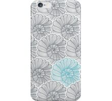 Vector background pattern of snail iPhone Case/Skin