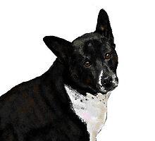 Roxie, The Art Hound by Carole Boyd