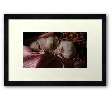 Little Angel sleeping  Framed Print
