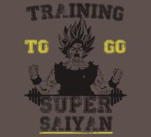 TRAINING TO GO SUPER SAIYAN  Kids Clothes