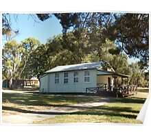 Old Schoolhouse in Baldivis Poster