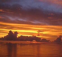 Simberi Island Sunrise by Georgina   Friend