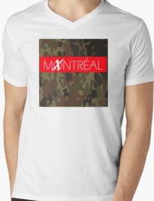 MONTREAL Mens V-Neck T-Shirt