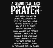 Lifter's Prayer - White Edition by yuemha69