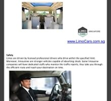Benefits of Limousine in Singapore by Infographics