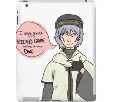 Tsukasa .Hack//sign Got stuck in Video games before it was cool iPad Case/Skin