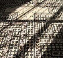 Floor of Maastricht Cathedral by Rowland Jones