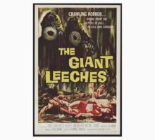 The Giant Leeches - Vintage Movie Poster Kids Clothes