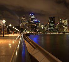 Sydney at Night by John Vandeven