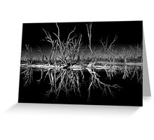 Nighttime Reflections Greeting Card