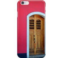 Door in Nicaragua iPhone Case/Skin