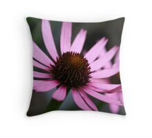 Echinacea tennesseensis Throw Pillow