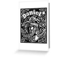 Daniel cover Greeting Card
