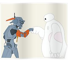 Baymax and Chappie Poster