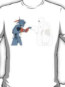 Baymax and Chappie T-Shirt
