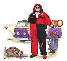Hurley Quinn Lost/Batman Mashup Photographic Print