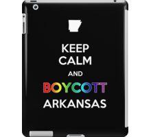 Keep Calm and Boycott Arkansas iPad Case/Skin