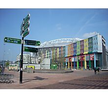 ajax stadium area Photographic Print