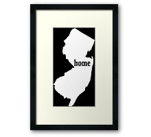 New York Home Tshirts - Custom Made Framed Print