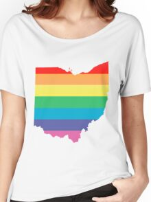 rainbow ohio Women's Relaxed Fit T-Shirt