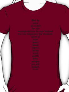ISAIAH 53:5 cross T-Shirt