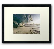 Kua Bay Sunrise 1 Framed Print