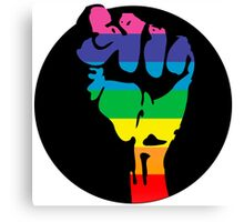 pride fist Canvas Print