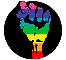 pride fist Photographic Print