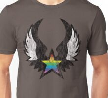 winged rainbow starz Unisex T-Shirt