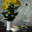 Still life with Lemons by atrei