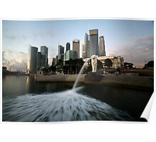 singapore waterfront Poster
