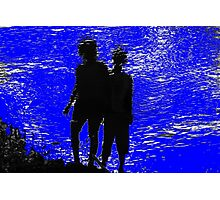 two girls Photographic Print
