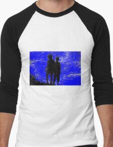 two girls Men's Baseball ¾ T-Shirt