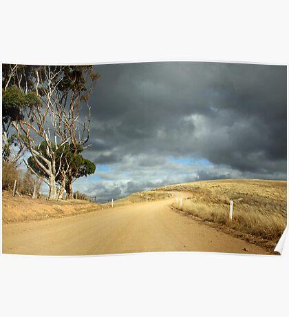 Back Road - Myponga, South Australia Poster