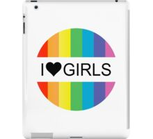 i heart girls iPad Case/Skin