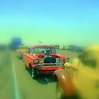 57 Chevy gasser (Roaring Rat ) by blackpixi