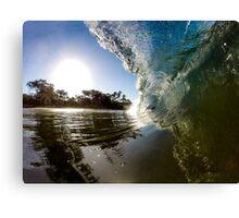 Paia Bay Maui Wave Shot Canvas Print