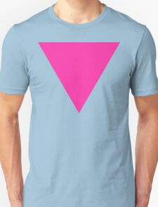 pink triangle Unisex T-Shirt