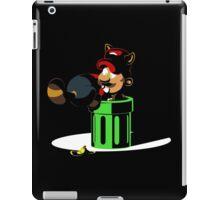 Raccoon Plumber IRL 2: Electric Boogaloo iPad Case/Skin