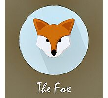 The Fox Cute Portrait Photographic Print